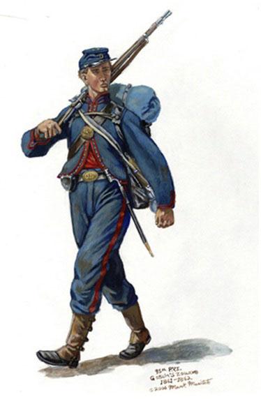 Union Soldier Uniform Civil War 75