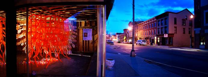 Kyle Adams image of 404 Main Street Installation