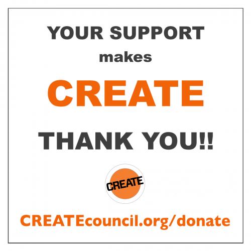 2020 CREATE Support Donate E
